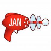 January on retro raygun