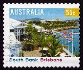 Briefmarke-Australien 2008-Südufer, brisbane