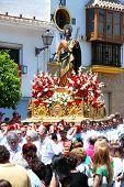 Religious procession, Marbella, Spain.