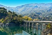 pic of apennines  - Bridge over the River in Apennines Italy - JPG
