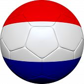 pic of holland flag  - 3d soccer ball design with Dutch - JPG