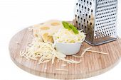 Emmentaler With Cheese Grater