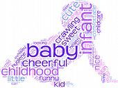 Baby tag cloud