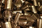 Jumble Of Stainless Steel