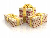 3D - Christmas Gift Boxes 7