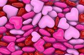 3D - Hearts 1