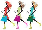 Walking Young Women