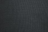 Black Background Of Texture Synthetic Fabric