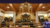 Ankokuden Hall in the Zojoji's Temple ground
