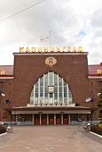 Southern Railway Station (1929) In Kaliningrad, Russia