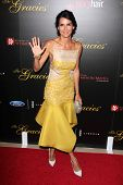 LOS ANGELES - MAY 20:  Angie Harmon at the 39th Annual Gracie Awards at Beverly Hilton Hotel on May 20, 2014 in Beverly Hills, CA