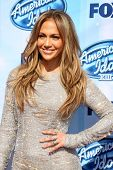 LOS ANGELES - MAY 21:  Jennifer Lopez at the American Idol Season 13 Finale at Nokia Theater at LA L