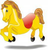 Bebé caballo - personaje de animación de dibujos animados