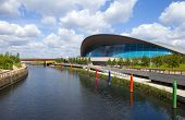 The Aquatics Centre In The Queen Elizabeth Olympic Park In London