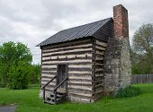 A Reconstructed Log Cabin