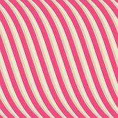 Endless curves seamless pattern