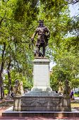 Memorial In Savannah For General Oglethorpe