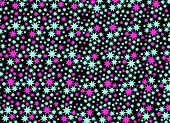 Star Seamless Pattern Background