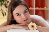 Beautiful Lady Before Massage