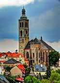 Old church of St. James in Kutna Hora