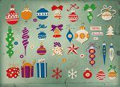 pic of teardrop  - Christmas baubles - JPG