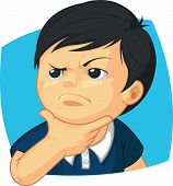Expression - Boy Thinking