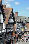 Tudor Shops, Chester.