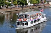 River ferry, Chester.