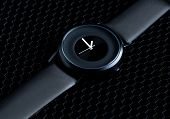 wrist watch on a dark background
