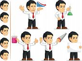 Office Worker Customizable Mascot 6