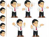 Office Worker Customizable Mascot 13