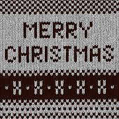 Christmas Background - Norwegian Knitting Patterns