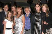 LOS ANGELES- NOV 4: Michael Damian, Paris Abbott, Katherine Flynn, Jane Seymour, Keenan Kampa, Janeen Damian at the