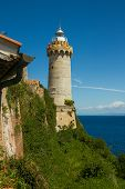 The Lighthouse At The Harbour Of Portoferraio, Elba