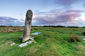 Standing Stone On Bodmin Moor