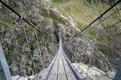 Trift suspending bridge, Switzerland