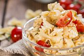 Portion Of Pasta Salad