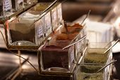 Asian Spices At Buffet