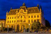 University Of Ljubljana In The Evening - Slovenia