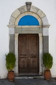 Door Of Greek Church