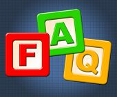 Faq Kids Blocks Means Frequently Asked Questions And Counselling