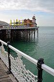 Brighton England - View Of Brighton Pier Amusement Arcade & Entertainments.