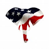 American Republican Elephant Symbol