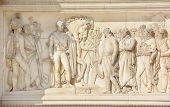 Details of Arch Triumph Carousel
