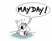 stock photo of quicksand  - Mayday - JPG