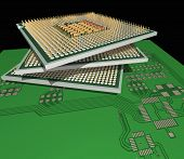 Processors On The Pcb.