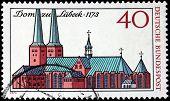 Lubeck Stamp