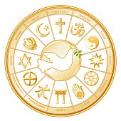 image of khanda  - Dove of Peace with olive branch - JPG