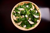 Постер, плакат: Fresh spinach salad
