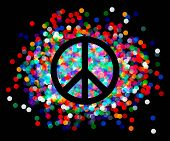 pic of peace  - Peace sign - JPG